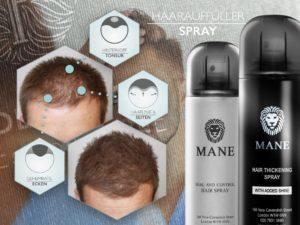 Wo und wie kann ich einen MANE Haarverdichtungsspray Testsieger richtig anwenden